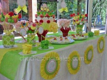 Decoracion de mesas de comunion