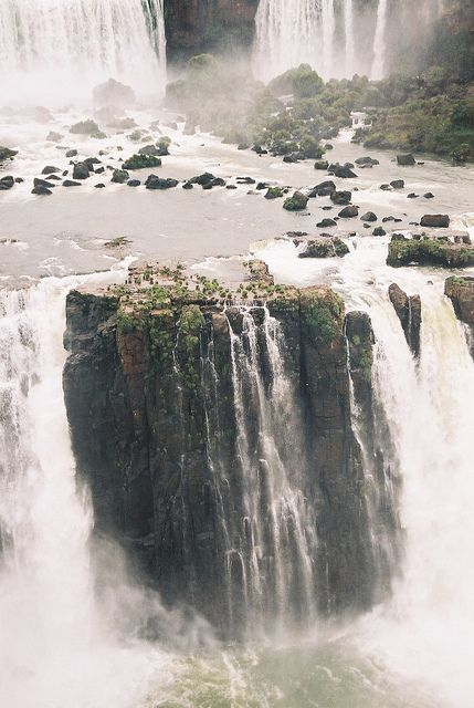 Iguazu Falls aka Angel Falls, Iguazu, Misiones, Argentina