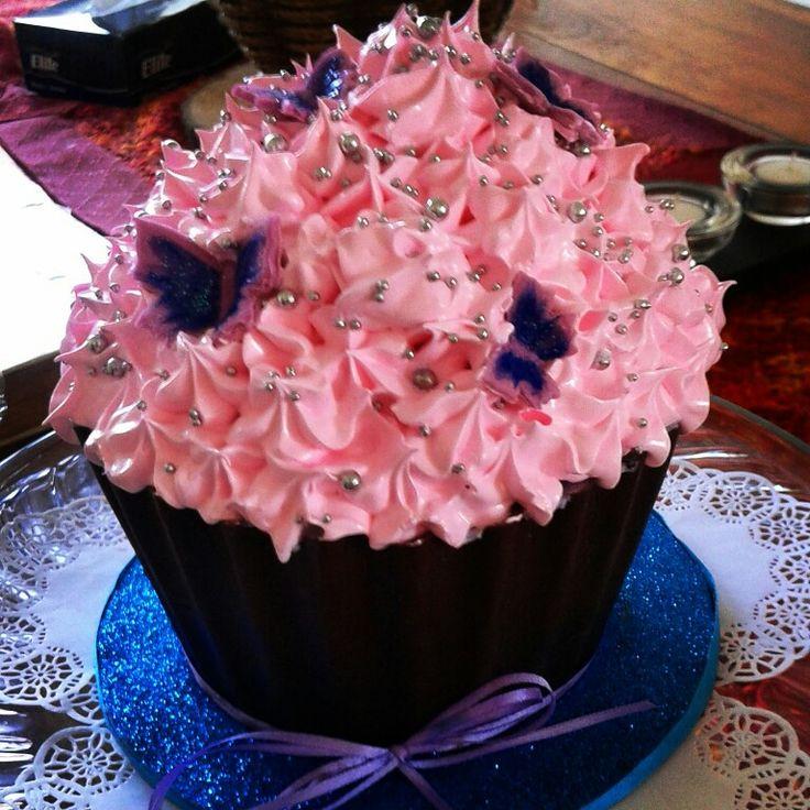 Cupcake gigante