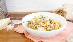 Chicken and Bacon Carbonara recipe - Best Recipes