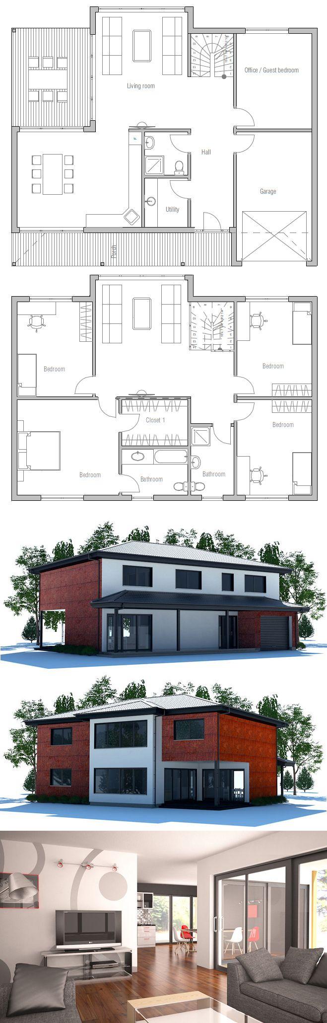 Haus grundrisse zukunft traumhaus duplex haus pläne hausgrundrisse einfache hauspläne haus blaupausen moderne häuser haus design