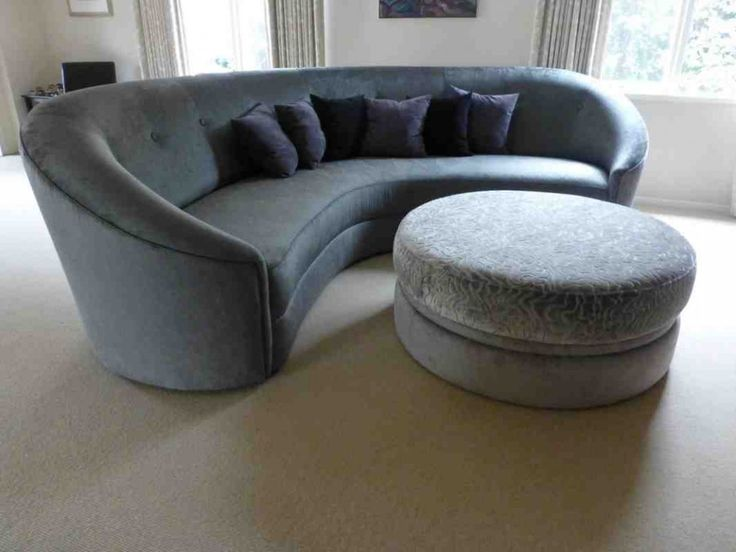 17 Best Ideas About Curved Sofa On Pinterest