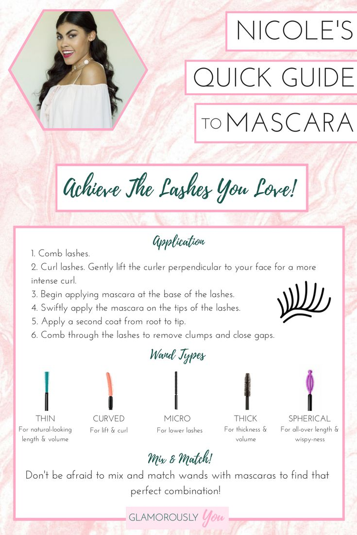 Mascara Tips | Mascara 101 | Eye Makeup | Mascara Wand Types | How To Apply Mascara | Lashes | Falsies | Eyelashes | Makeup Guide | Makeup Tutorial | Makeup Application