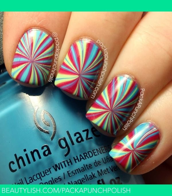 Marble Nail Polish Instructions: Best 25+ Water Marble Nails Ideas On Pinterest