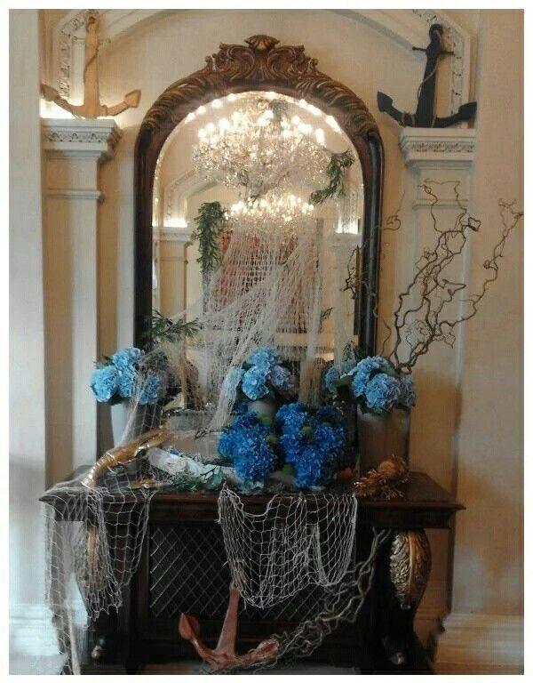 Flower display for Oyster festival at The Shelbourne Hotel (September 2015)