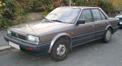 Bluebird Nissan. 4 door. It was ok.
