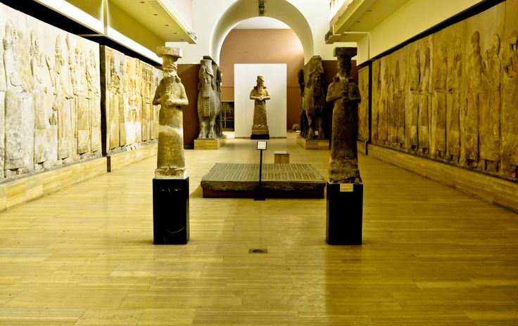 Iraqi National Museum in Baghdad, Iraq raised the old, Iraqi civilization, Mesopotamia