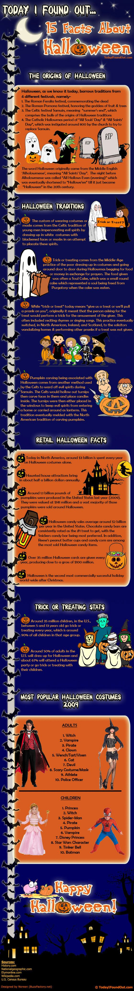 Halloween | Tipsographic | More Halloween tips at http://www.tipsographic.com/
