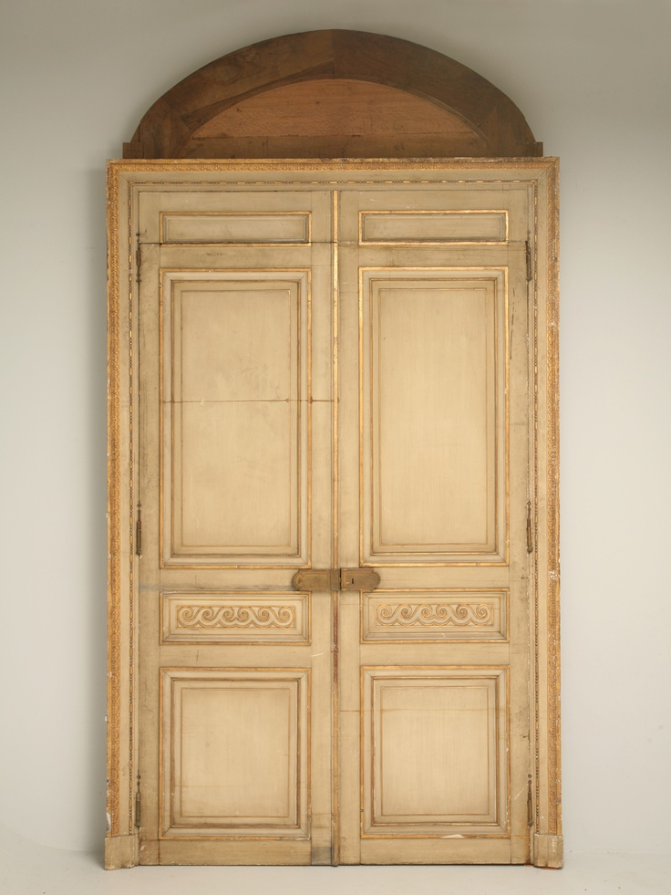 Amazing Early French Chateau Doors C 1800 French Country