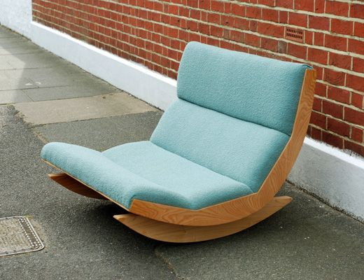 The fabulous Baines & Fricker Rocker in our Tiree fabric, wow!