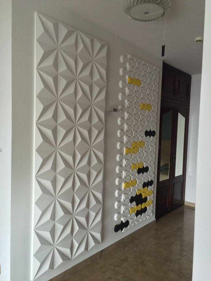Panele gipsowe Concept - oryginalny sposób na dekoracje.