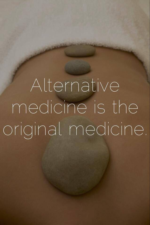 Can you say massage therapy Alternative medicine