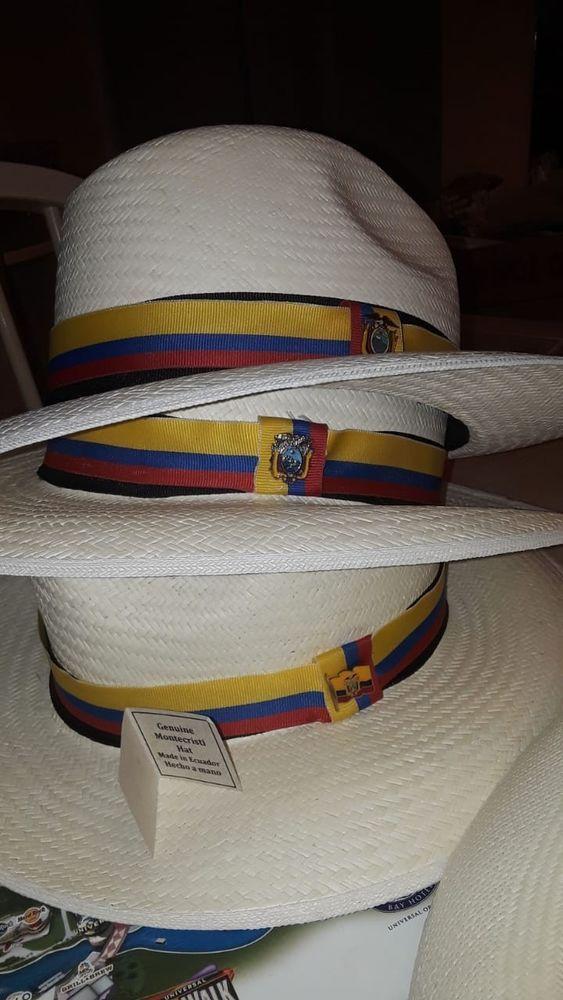 d107fe1cb GENUINE PANAMA HAT. Hand woven in Ecuador with 100% original ...