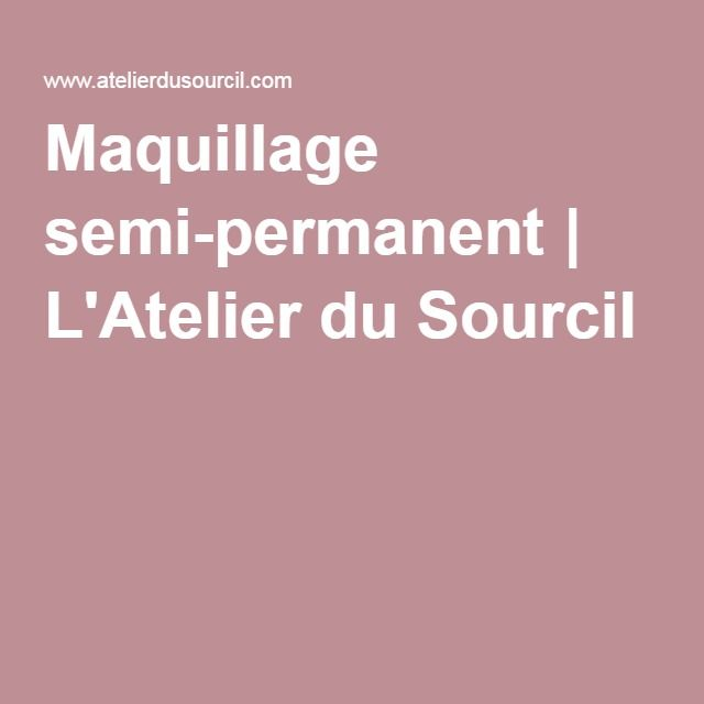 les 25 meilleures id es de la cat gorie l 39 atelier du sourcil sur pinterest pilation sourcils. Black Bedroom Furniture Sets. Home Design Ideas