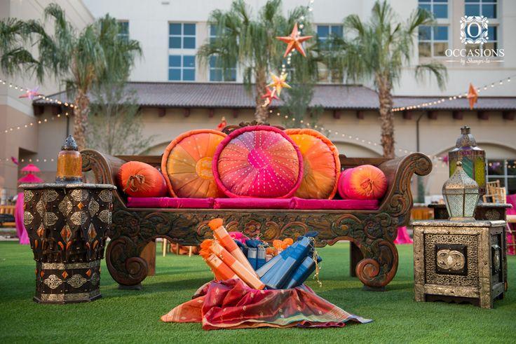 Sangeet, Garba & Mehndi Decor | Occasions By Shangri-La