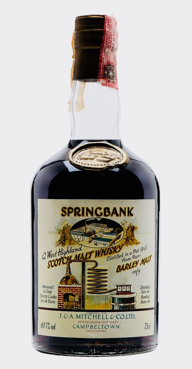 SPRINGBANK 1966 West Highland Malt Sherry Cask #441, Campbeltown