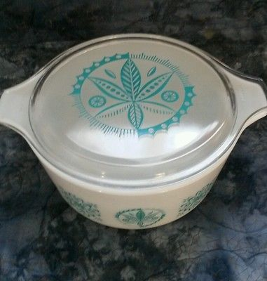The Holy Grail of all Pyrex - 475 Turquoise Hex
