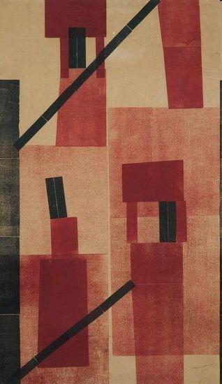 H.N. Werkman  Chimneys (1923)