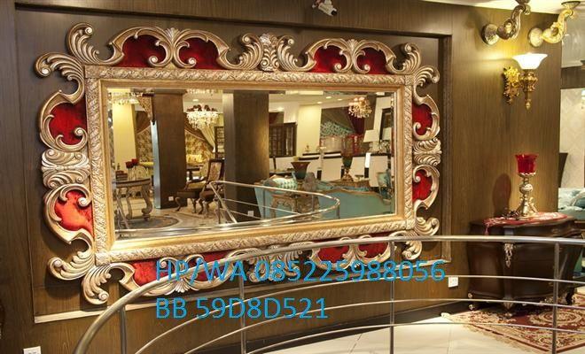 Frame Pigura Kaca Ukir Terbaru ini atau pigura cermin ukir produk unggulan dari toko kami karena model terbaru dan mempunyai ukiran sangat klasik.