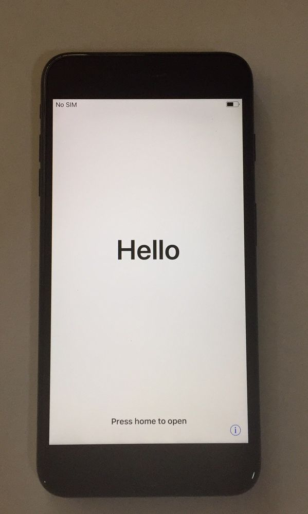 Apple iPhone 7 Plus - 128GB - Black (Verizon) A1661 (CDMA +