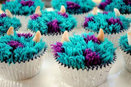 Monsters Inc - Monsters University Cupcakes @Virginia Kraljevic Kraljevic Kraljevic Autry