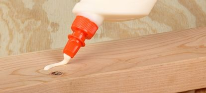 Hammering out the mistakes to your unfortunate wood glue applications.