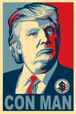 """I wish people would take a closer look at this guy. His policies are almost exactly the same as Hitler and his treatment of jews. Race/religion hating and blaming. Seriously. Look it up. There's a famous quote - """"never forget, everything Hitler did was legal"""". Trump is a monster."""