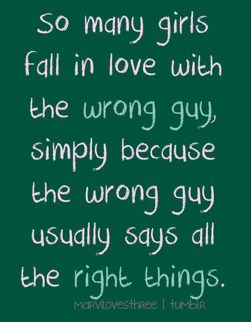 Quotes About Love Going Wrong : ... Bad boy quotes on Pinterest Bad boys, Bad girl quotes and Bad girls