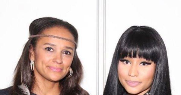 21 de dezembro de 2015: Isabel dos Santos encontra-se com Nicki Minaj (Ao Minuto) Com: Nicki Minaj e isabel dos Santos