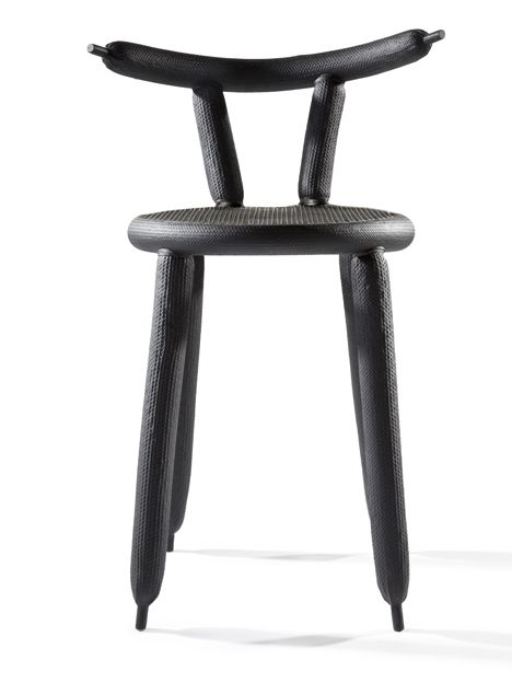 Marcel Wanders wraps balloons in carbon fibre to create lightweight chair