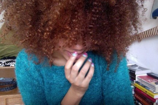 Curly Hair Style Angela 3c 4a Natural Hair Style Icon Black Girl With Long Hair