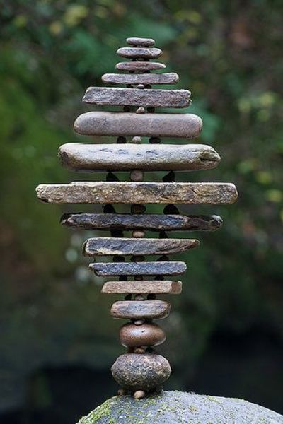 Stones, crystals and all those that come from our Mother Earth. The word at the bottom says it best.....  Balance.  Happy Pinning