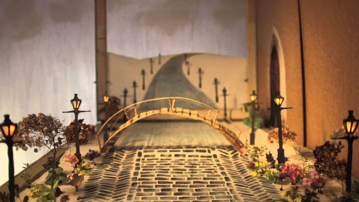 """Gregory Alan Isakov - """"Amsterdam"""" Official Video Incredible stop motion animation by Laura Goldhamer"""