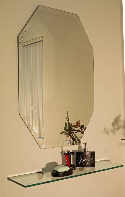 best 25 frameless mirror ideas on pinterest frameless. Black Bedroom Furniture Sets. Home Design Ideas