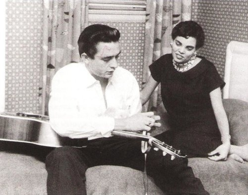 Johnny Cash and wife Vivian