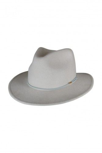 FELT FEDORA WITH PU BAND AND METAL TUBES SILVER  If you're a fan of 70s boho style or are simply a bit of a groover at heart you are going to absolutely LOVE this beautiful felt hat. Perfect for weekend dress ups, city strolls or jaunts to the country.