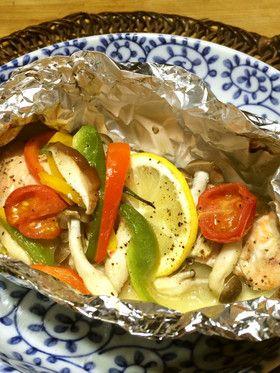 鮭のホイル焼き by meg115 [クックパッド] 簡単おいしいみんなのレシピ ...