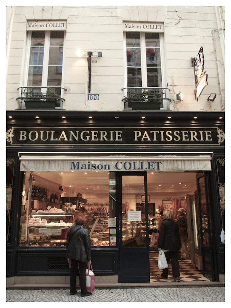 rue Montorgueil, Paris - Vicki Archer  Great eclairs!