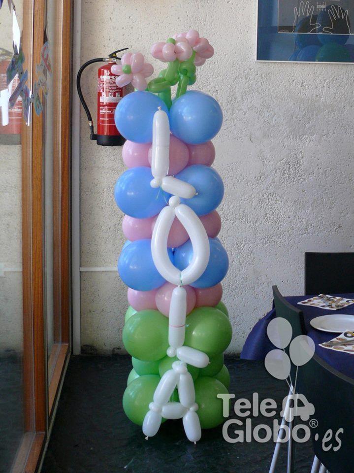108 best piggy images on pinterest balloon ideas - Decoracion con globos para cumpleanos ...