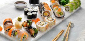 Se flere oppskrifter på sushi