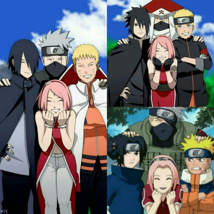 Naruto Sakura Sasuke And Kakashi 1 Naruto Shippuden Anime Naruto Sasuke Sakura Anime