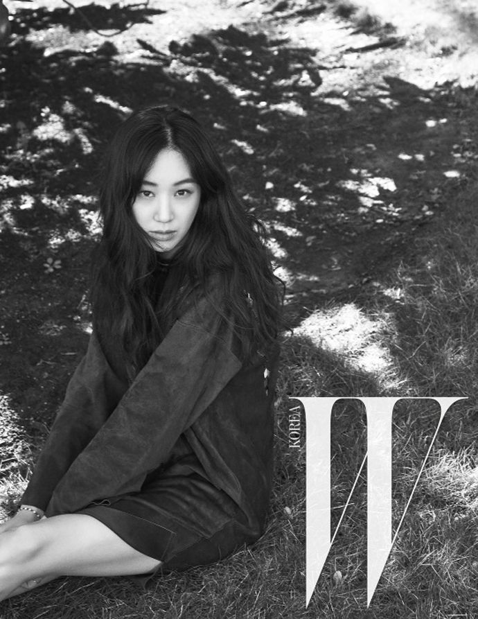 Jung Ryeo Won For W Korea's April 2015 Issue