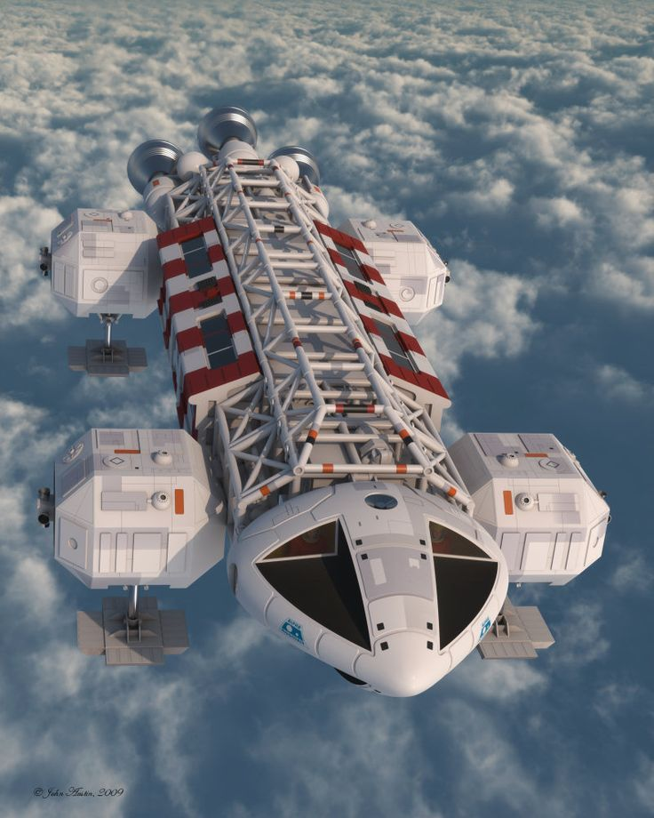 The Eagle Transporter is a fictional spacecraft and the iconic image of the 1970s television series Space: 1999