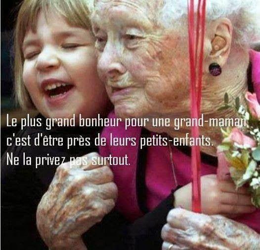 Citations option bonheur: Citation sur les grands-mamans