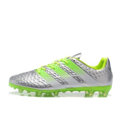 best service 2e913 b1f80 ... 50% off adidas ace fotbollsskor bast adidas ace 16.1 fg ag silver gron  fotbollsskor d7780