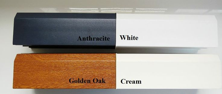#UPVC windows of different colours