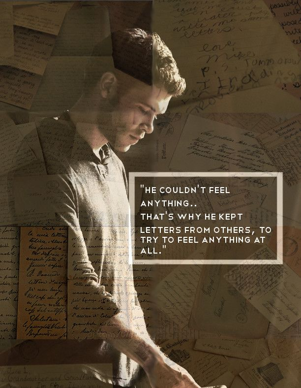 Klaus & the stolen love letters. Klaus Mikaelson - The Originals.♥