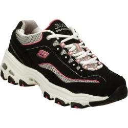 Women's Skechers D'Lites Centennial Black/White - Overstock™ Shopping - Great Deals on Skechers Athletic