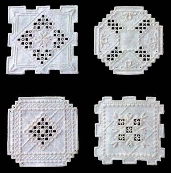 This Small Gifts Hardanger pattern lives up to its name. These dainty little doilies are the perfect gift to give to that special someone in your life!