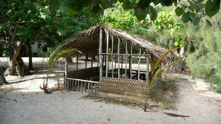Traditional Tonga house